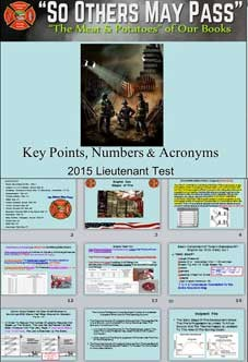 NEWLY RELEASED - Key Points, Numbers & Acronyms (2 Part Download)