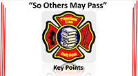 So Others May Pass Key Points Slides